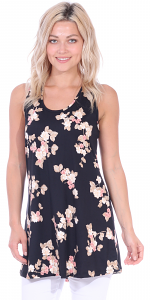 Floral Print Summer Tank ( S - 3X ) - DT01