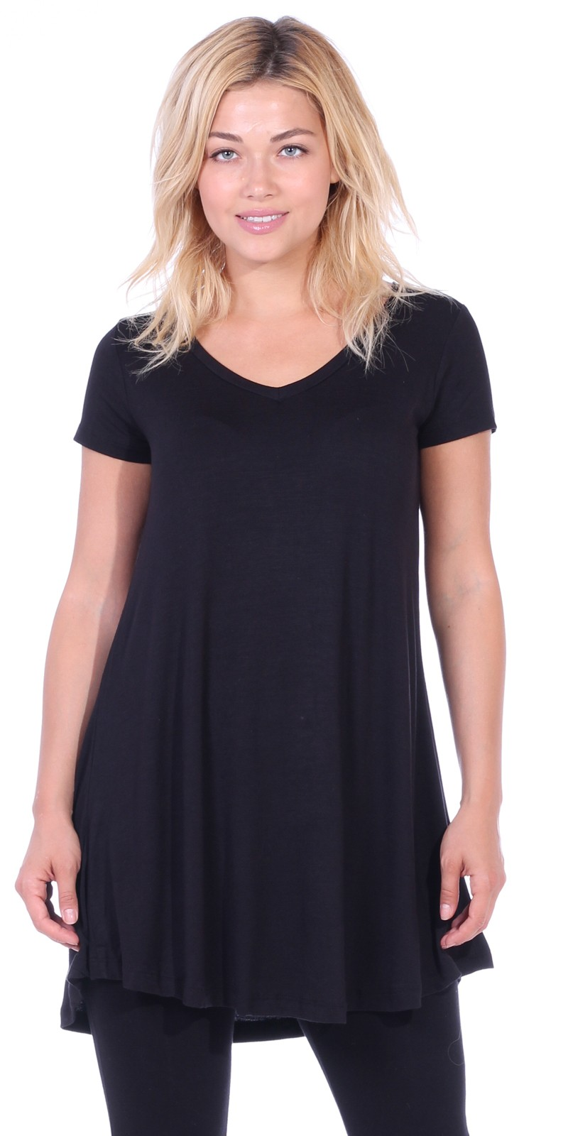 Cotton is also the perfect fabric for plus size long tunics for curvier women. Fabrics like chiffon and georgette are used to make soft, flatteringly cut long tunic tops women can wear when they want to look attractive in an elegant, understated manner.