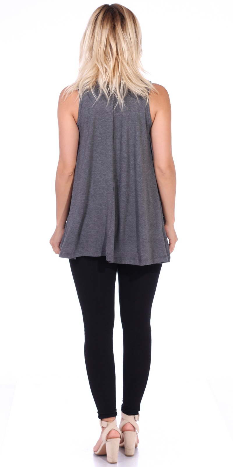 Imported A Wonderful Loose Fit Rayon Top to Match with Leggings Dolman Cut and Finish Premium Rayon Fabric Makes for Amazing Comfort 95% RAYON 5% SPANDEX Model is Wearing a Small Measurements are 33B x 34 x 36 and height is 5' 8