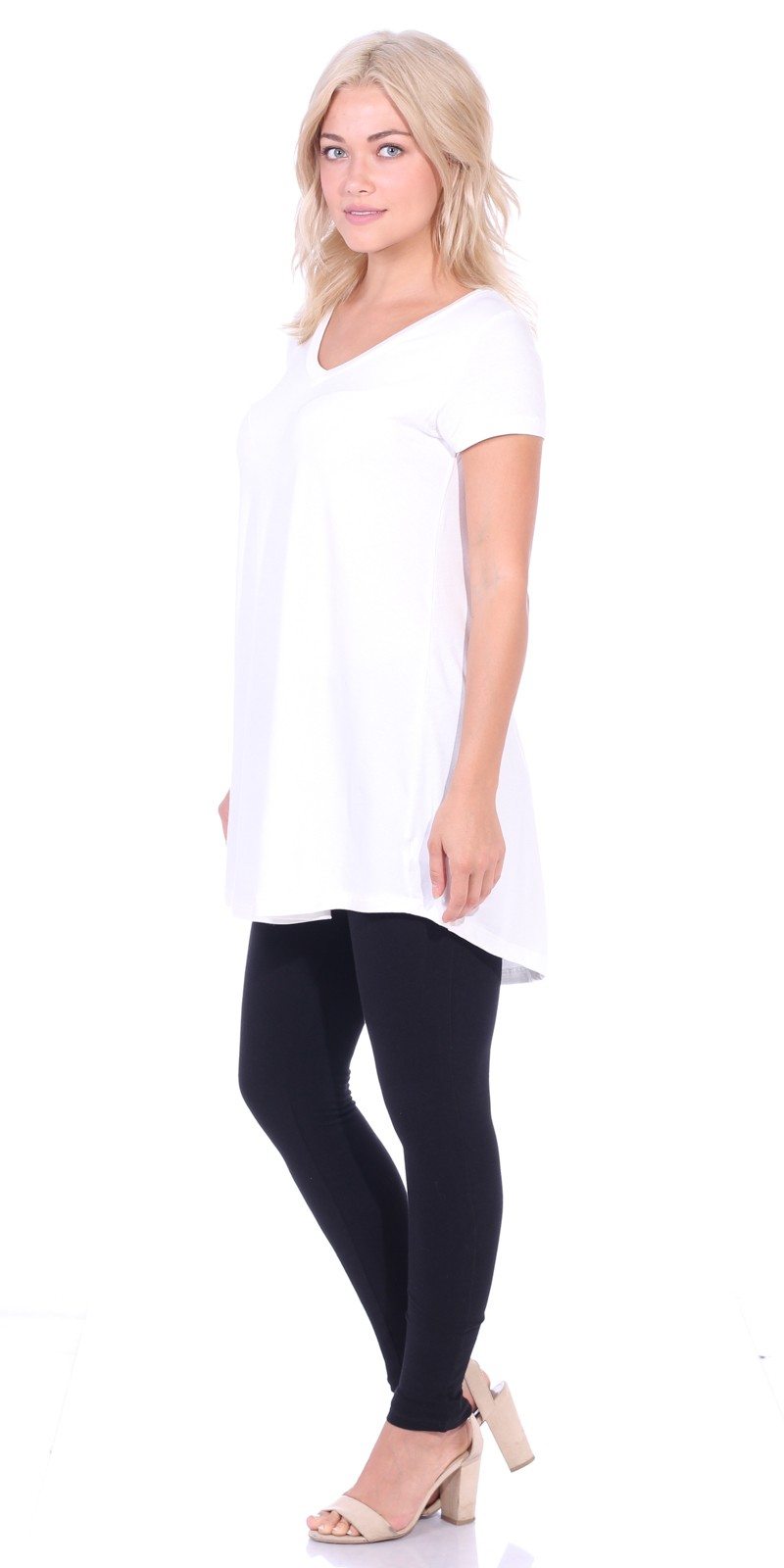 fe6f61a0f768c Short Sleeve Long Tops To Wear With Leggings