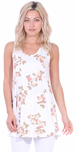 Floral Print Summer Tank ( S - 3X ) - DT02