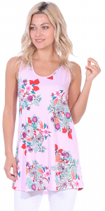 Floral Print Summer Tank ( S - 3X ) - DT06