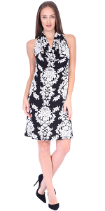 Cowel Neck Dress - Made in USA - ST28