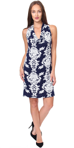 Cowel Neck Dress - Made in USA - ST29