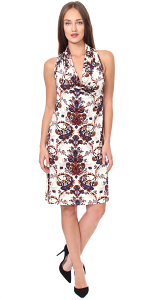 Cowel Neck Dress - Made in USA - ST53