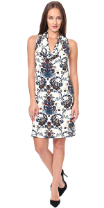 Cowel Neck Dress - Made in USA - ST54