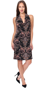 Cowel Neck Dress - Made in USA - ST56